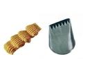 Silikomart 43.349.99.0000 Bd300 - Star Ribbon Stainless Steel Tips For Piping Bag 16 X 2 Mm