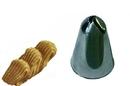Silikomart 43.359.99.0000 Bx8019 - Stainless Steel Tips For Piping Bag Bx 19 H52 Mm