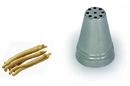 Silikomart 43.375.99.0000 Bx2219 - Stainless Steel Tips For Piping Bag Bx 19 H52 Mm