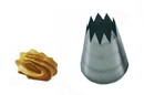 Silikomart 43.379.99.0000 Bs102 - Star Stainless Steel Tips For Piping Bag 2 Mm