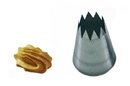 Silikomart 43.383.99.0000 Bs106 - Star Stainless Steel Tips For Piping Bag 6 Mm