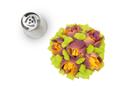 Silikomart 43.421.99.0001 Flower Tube 01 - Stainless Steel Tips For Piping Bag 25 Mm