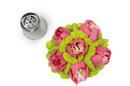 Silikomart 43.422.99.0001 Flower Tube 02 - Stainless Steel Tips For Piping Bag 25 Mm
