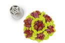 Silikomart 43.425.99.0001 Flower Tube 05 - Stainless Steel Tips For Piping Bag 25 Mm