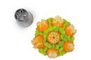 Silikomart 43.426.99.0001 Flower Tube 06 - Stainless Steel Tips For Piping Bag 25 Mm
