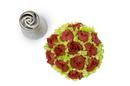 Silikomart 43.431.99.0001 Flower Tube 11 - Stainless Steel Tips For Piping Bag 25 Mm