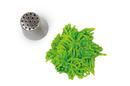Silikomart 43.434.99.0001 Grass Tube 14 - Stainless Steel Tips For Piping Bag 25 Mm