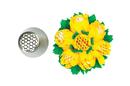 Silikomart 43.473.99.0001 Flower Tube 23 - Stainless Steel Tips For Piping Bag 25 Mm