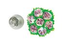 Silikomart 43.479.99.0001 Flower Tube 29 - Stainless Steel Tips For Piping Bag 25 Mm