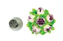 Silikomart 43.491.99.0001 Flower Tube 41 - Stainless Steel Tips For Piping Bag 25 Mm
