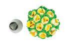 Silikomart 43.642.99.0001 Mini Flower Tube 02 - Stainless Steel Tips For Piping Bag 18 Mm
