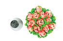 Silikomart 43.643.99.0001 Mini Flower Tube 03 - Stainless Steel Tips For Piping Bag 18 Mm
