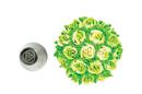 Silikomart 43.645.99.0001 Mini Flower Tube 05 - Stainless Steel Tips For Piping Bag 18 Mm