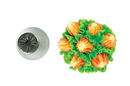 Silikomart 43.653.99.0001 Flower Tube 53 - Stainless Steel Tips For Piping Bag 25 Mm
