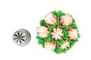 Silikomart 43.654.99.0001 Flower Tube 54 - Stainless Steel Tips For Piping Bag 25 Mm