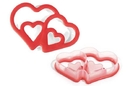 Silikomart 70.100.03.0060 Acc077 Double Heart - Baby Cutter 140X96 H 25 Mm