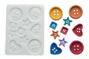 Silikomart 71.365.00.0096 Slk265 Silicone Mould Buttons