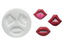 Silikomart 71.397.00.0096 Slk297 Silicone Mould Kiss