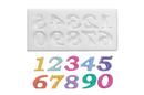 Silikomart 71.427.00.0096 Slk327 Silicone Mould Small Numbers