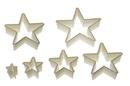 Silikomart 72.311.87.0069 Nylon Cutter 11 Star - From 2, 9 Cm To  12, 7 Cm