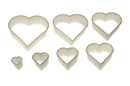 Silikomart 72.313.87.0069 Nylon Cutter 13 Irregular Heart - From 3X2.5 Cm To 12X11.5 Cm