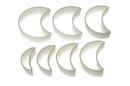 Silikomart 72.316.87.0069 Nylon Cutter 16 Regular Moon - From 8X3.5Cm To 13X10.5 Cm