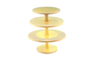 Silikomart 72.364.76.0065 Hula Up Yellow Xxl - Multi-Layer Cake Stand 240 Mm - 300 Mm - 350 Mm