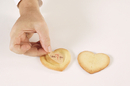 Silikomart 72.402.61.0065 For You - Heart Shaped Cutter + 80 Baking Sheets