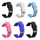 TOPTIE 6 Pcs Silicone Watch Bands, Quick Release Strap, 16/18/20/22/24mm Soft Replacement Watch Band