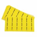 SpillTech Tamperproof Seal Labels (6