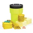 SpillTech HazMat 95-Gallon Hi-Viz OverPack Drum Spill Kit (Ext. dia. 31.75