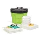 SpillTech Oil-Only 20-Gallon Hi-Viz OverPack Drum Spill Kit (Ext. dia. 23