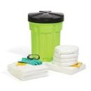 SpillTech Oil-Only 30-Gallon Hi-Viz OverPack Drum Spill Kit (Ext. dia. 23