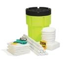 SpillTech Oil-Only 65-Gallon Hi-Viz OverPack Drum Spill Kit (Ext. dia. 28.25