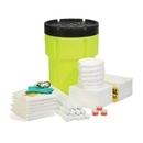SpillTech Oil-Only 95-Gallon Hi-Viz OverPack Drum Spill Kit (Ext. dia. 31.75