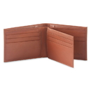 Style N Craft 200161-TN Bi-fold Wallet with Center Flap in Cow Leather, Tan