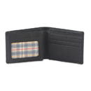 Style N Craft 200166-BL Bi-fold Wallet with Side Flap in Cow Leather
