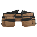 Style N Craft 76425 11 Pocket Carpenter's Tool Belt in Polyester