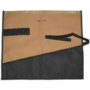 Style N Craft 76509 12 Pocket Wrench Roll Tool Pouch in Polyester in Khaki/Black Combination