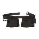 Style N Craft 90423 10 Pocket Carpenter's Tool Belt in Oiled Top Grain Leather