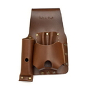 Style N Craft 98015 Tape and Knife Holder in Dark Tan Heavy Top Grain Leather