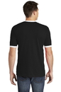 American Apparel  Fine Jersey Ringer T-Shirt