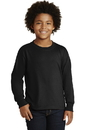 JERZEES Youth Dri-Power Active 50/50 Cotton/Poly Long Sleeve T-Shirt. 29BL.