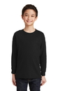 Gildan Youth Heavy Cotton 100% Cotton Long Sleeve T-Shirt. 5400B.