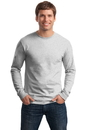 Hanes Tagless 100% Cotton Long Sleeve T-Shirt.  5586