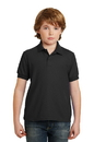 Gildan Youth DryBlend 6.3-Ounce Double Pique Sport Shirt. 72800B.