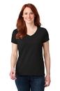 Anvil Ladies 100% Ring Spun Cotton V-Neck T-Shirt 88VL