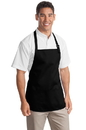 Port Authority - Medium Length Apron with Pouch Pockets. A510.