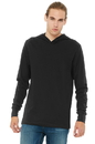Bella+Canvas<sup> ;</sup> Unisex Jersey Long Sleeve Hoodie. BC3512.