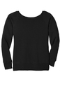 Bella+Canvas BC7501 Women's Sponge Fleece Wide-Neck Sweatshirt